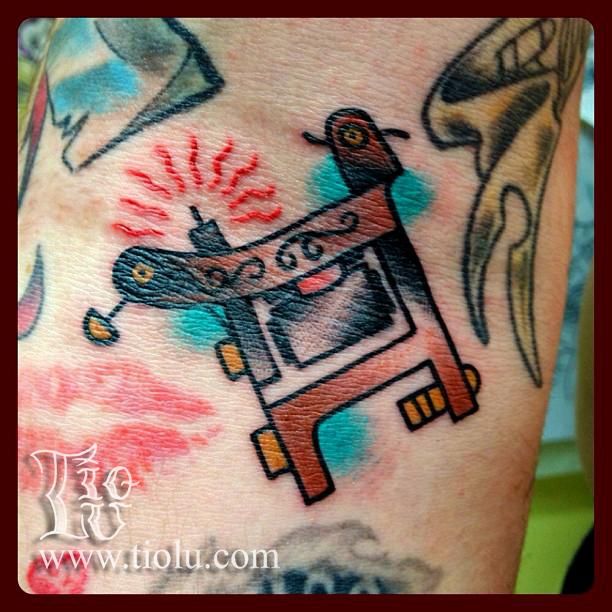 Bulldog tattoo machine