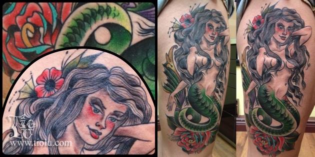 Dominique's Mermaid