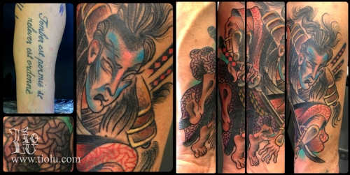 Cover-up Samurai
