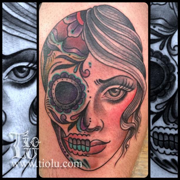 Sugar skull:Girl