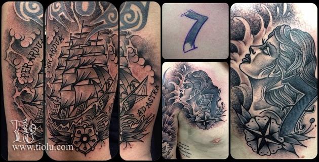 Sailing ship Sea girl