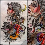 Gal & wolf demons
