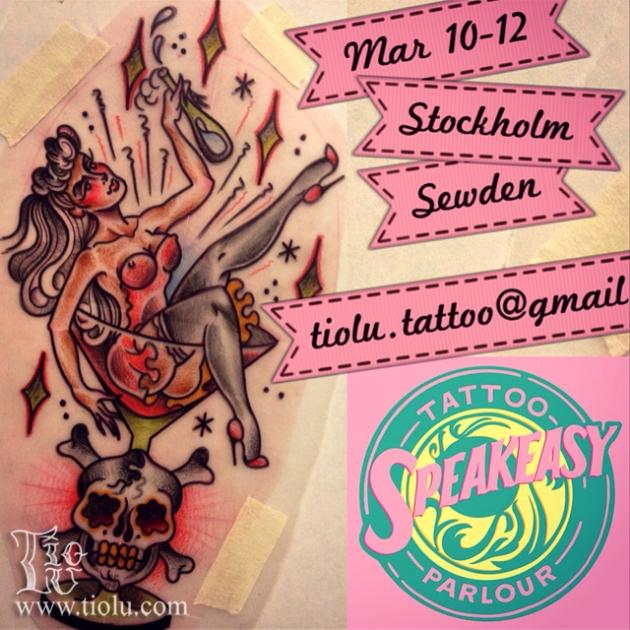 Speakeasy Tattoo Parlour Mar 10-12 2015