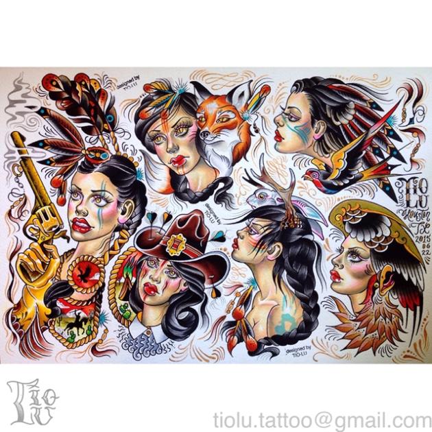 Native American Ladies