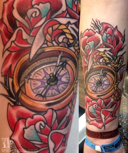 Compass & Roses