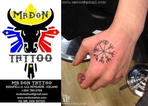Mr.Don Tattooz Reykjavik, Iceland