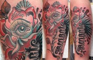 Rose eye dagger
